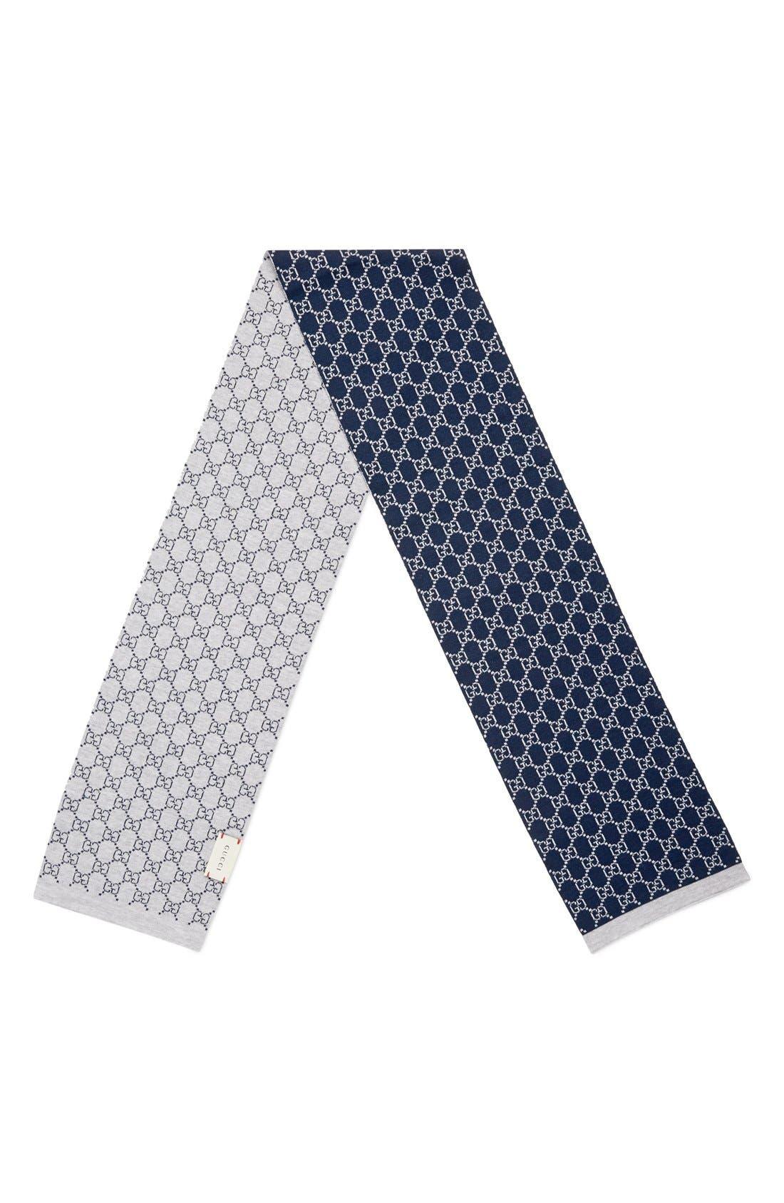 'Junior' Wool Scarf,                             Alternate thumbnail 2, color,                             Multi