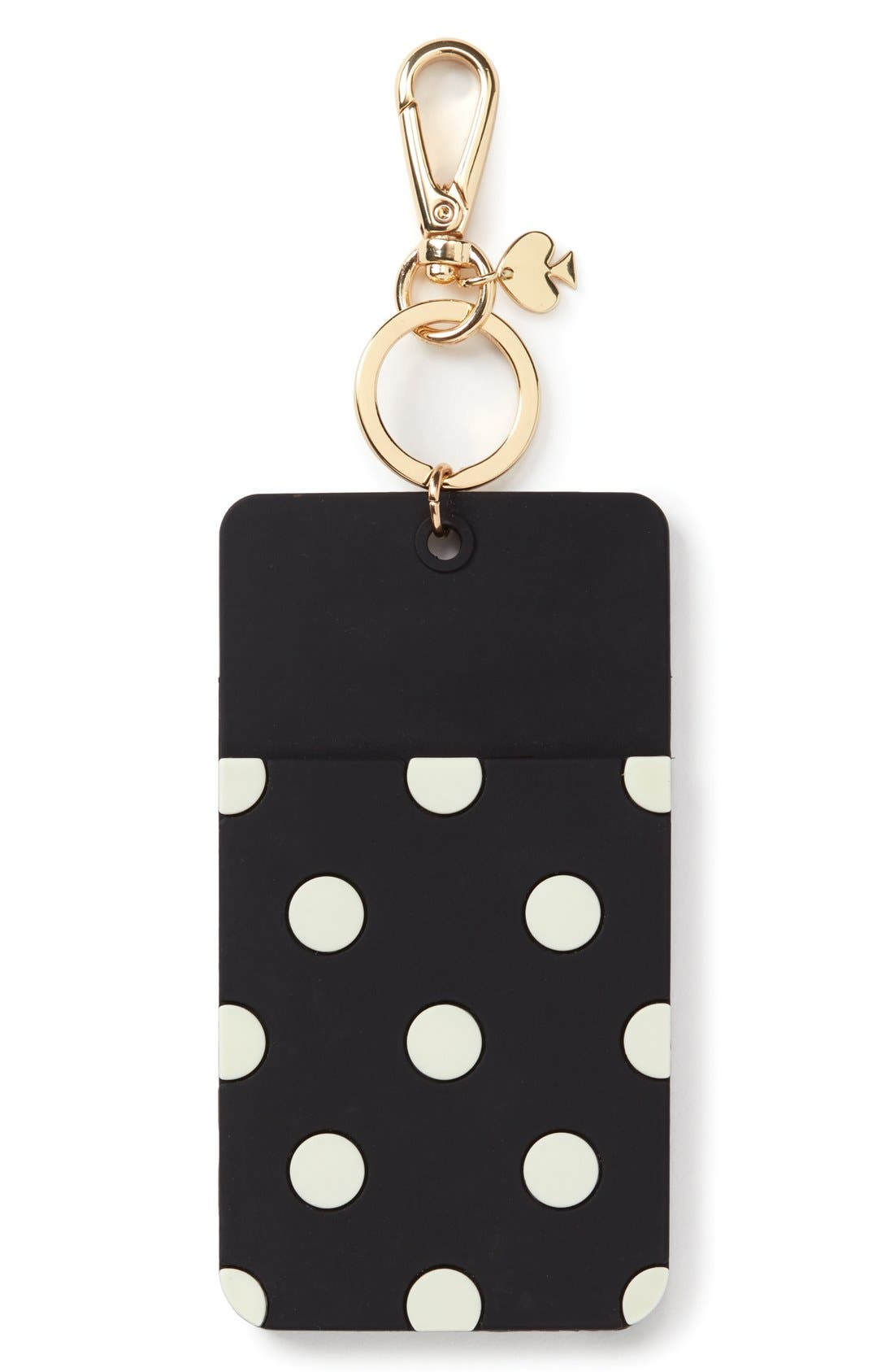kate spade new york 'why hello there' ID clip