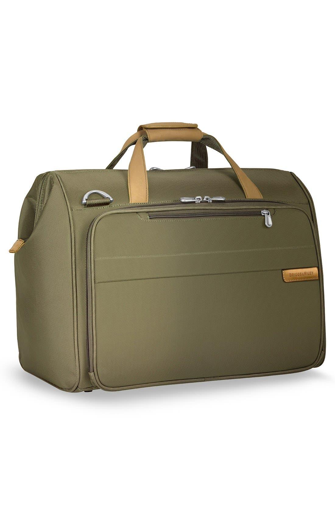 'Baseline' Duffel Bag,                             Alternate thumbnail 4, color,                             Olive Green