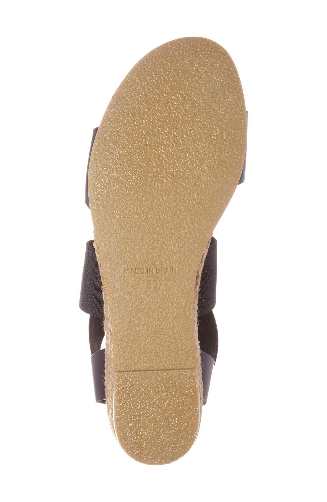 Alternate Image 4  - André Assous 'Malta' Wedge Espadrille Sandal (Women)