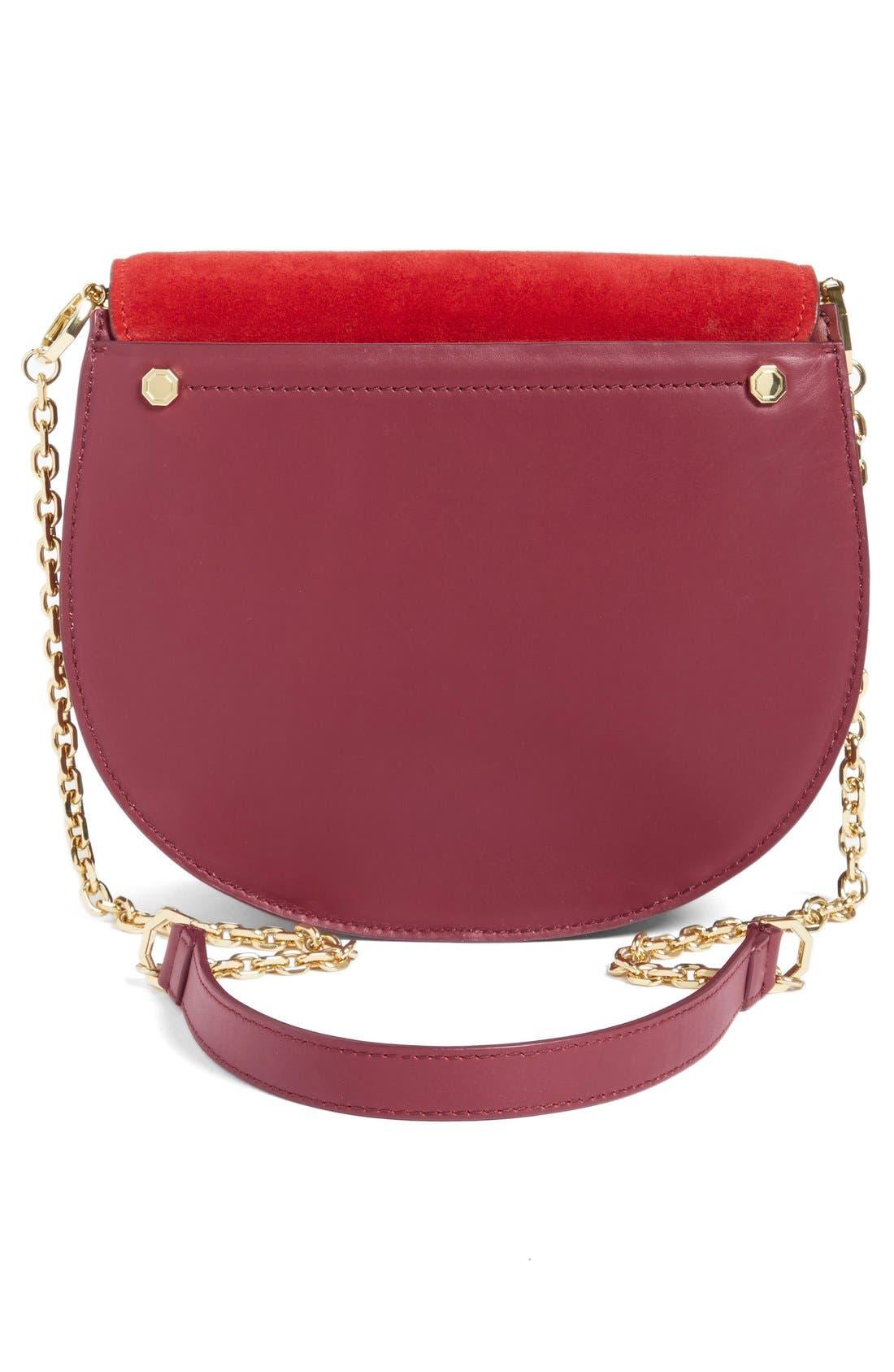 Alternate Image 3  - Louise et Cie 'Jael' Suede & Leather Shoulder Bag