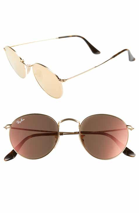 8bce4eddff Ray-Ban Icons 50mm Round Sunglasses