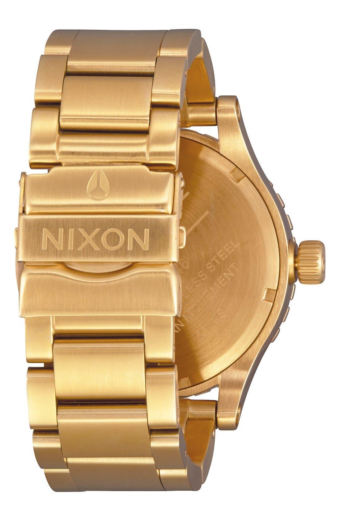 Alternate Image 2  - Nixon Bracelet Watch, 46mm