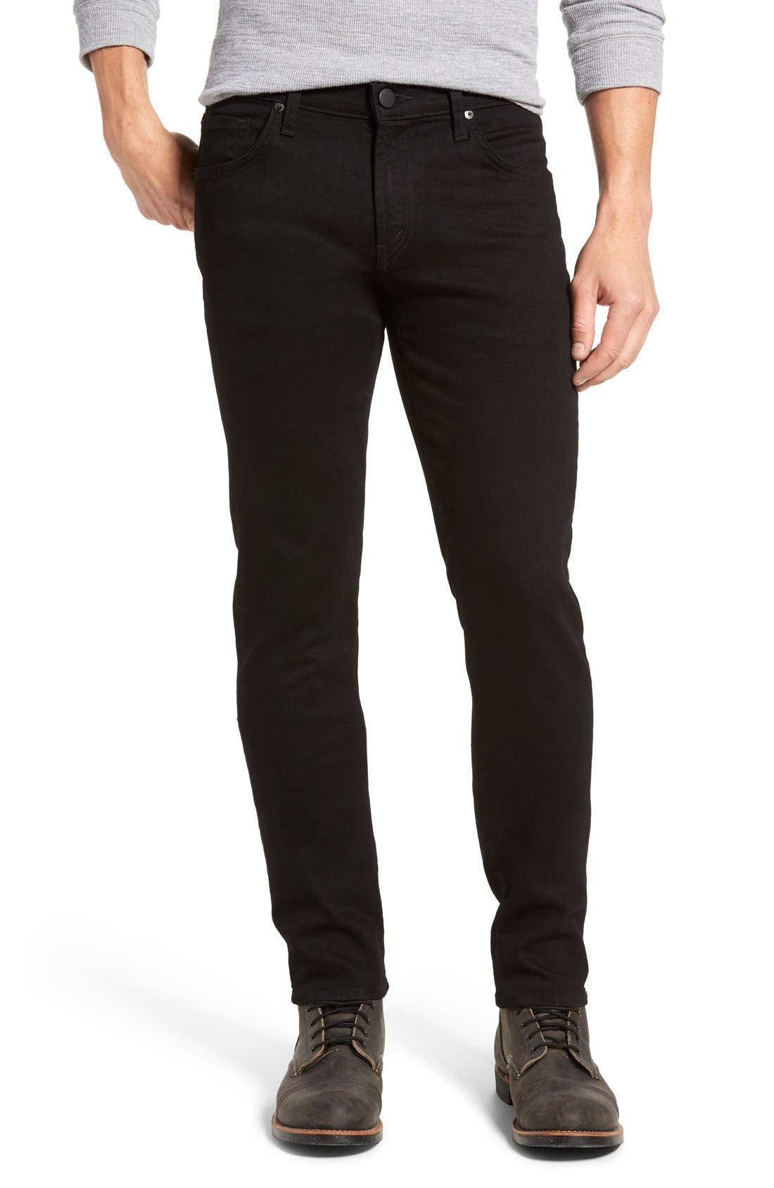 Tyler Slim Fit Jeans,                             Main thumbnail 1, color,                             Trivor Black