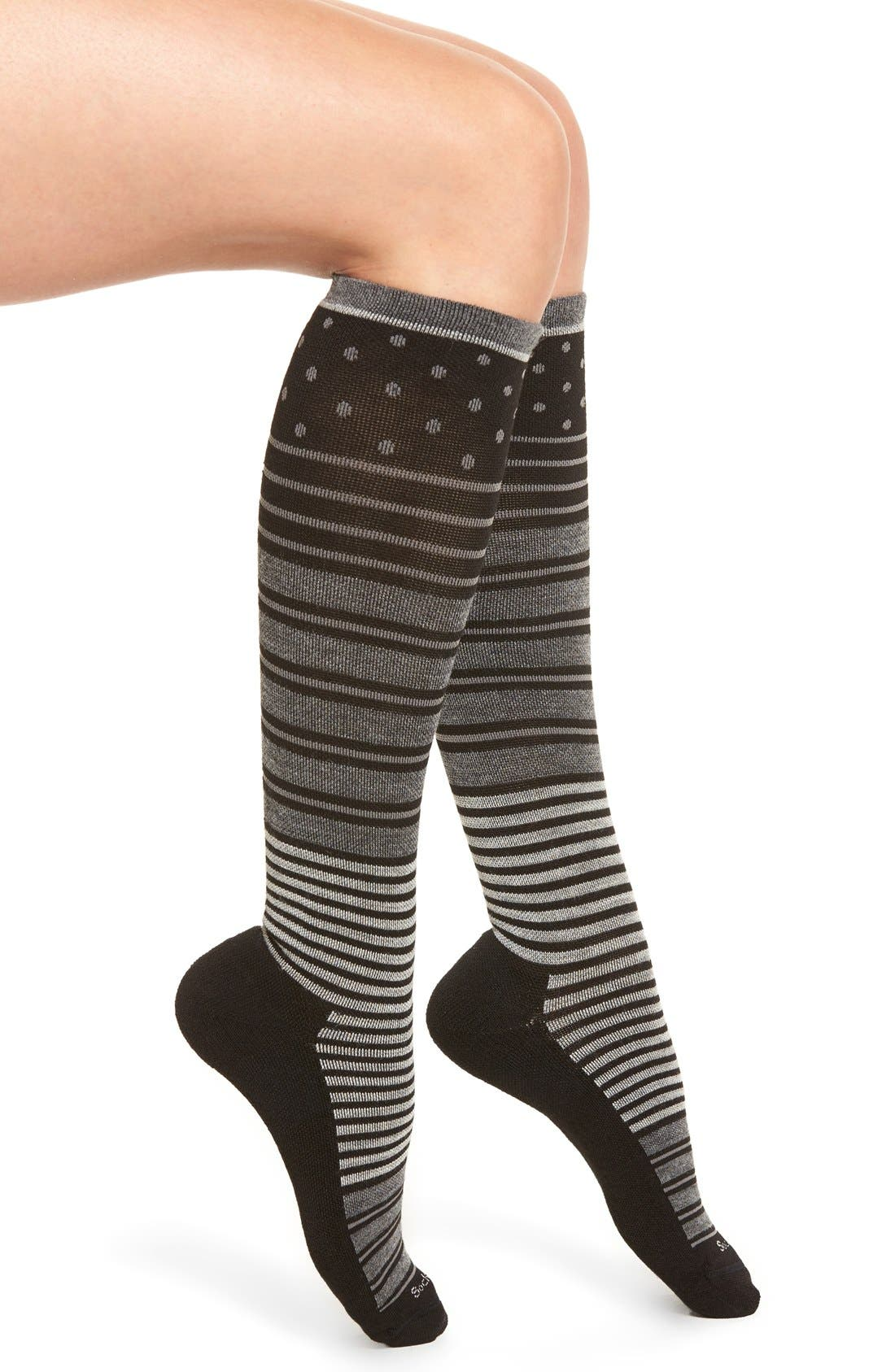 Sockwell 'Twister' Merino Wool Blend Compression Socks