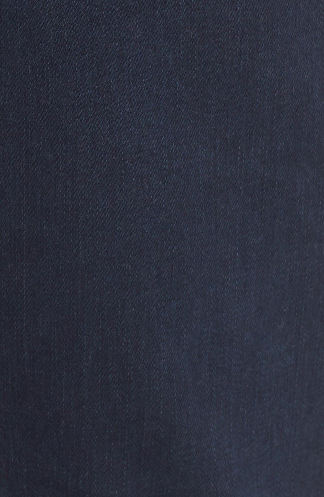 Straight Leg Jeans Jeans,                             Alternate thumbnail 5, color,                             Dark Indigo