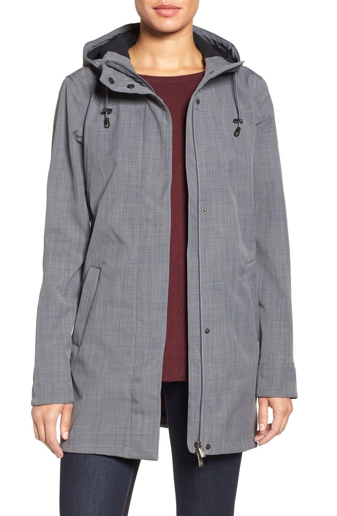 Alternate Image 1 Selected - Ilse Jacobsen Hooded Raincoat