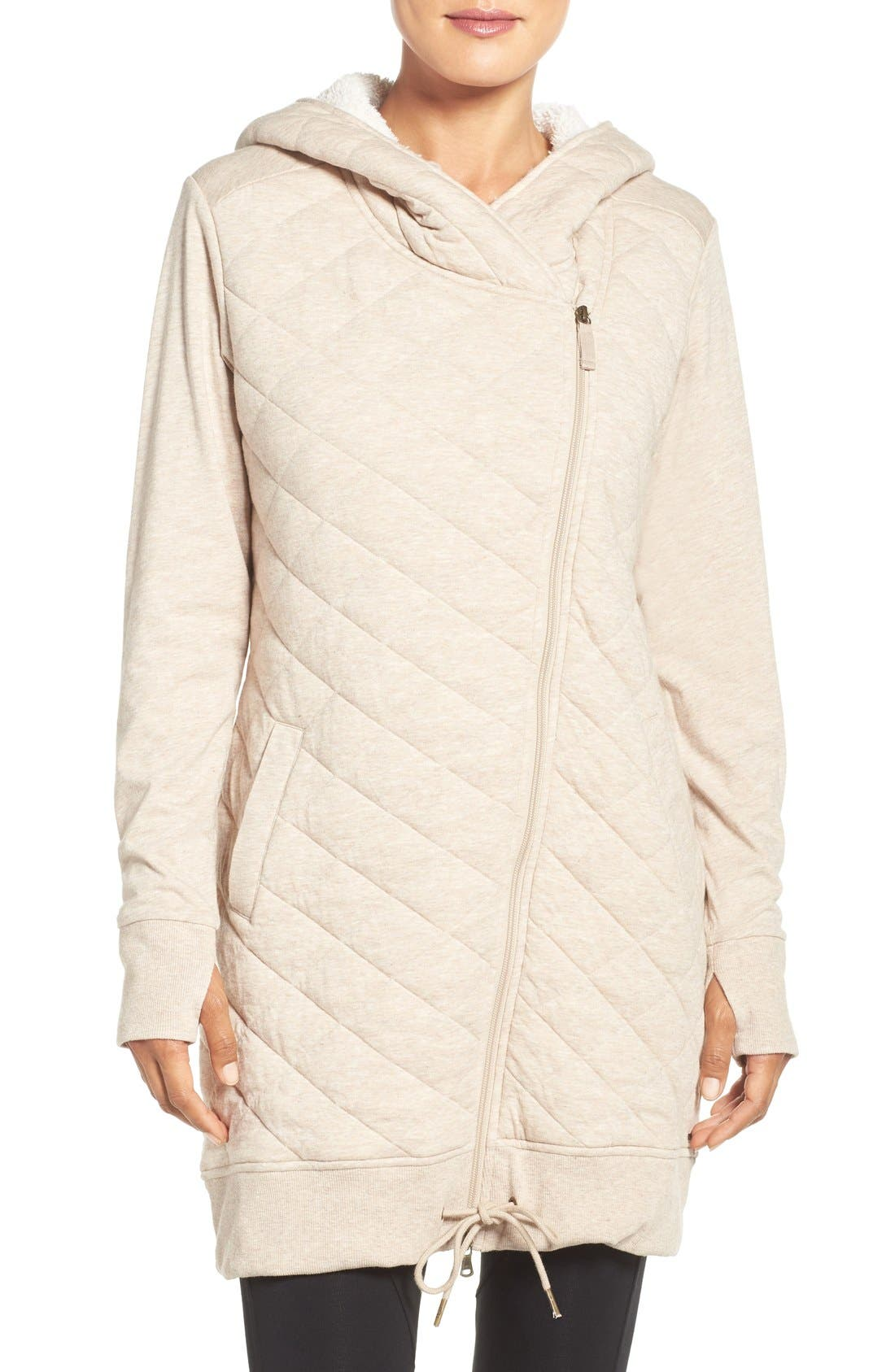 UGG® 'Kayla' Quilted Hoodie