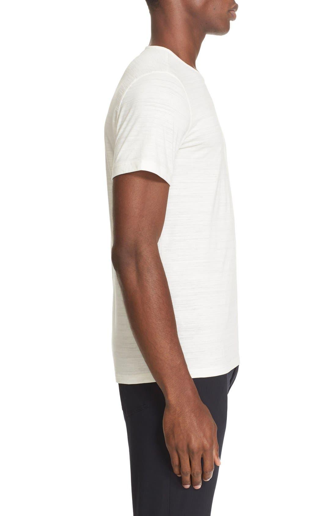 Alternate Image 3  - John Varvatos Collection Slub Pima Cotton T-Shirt