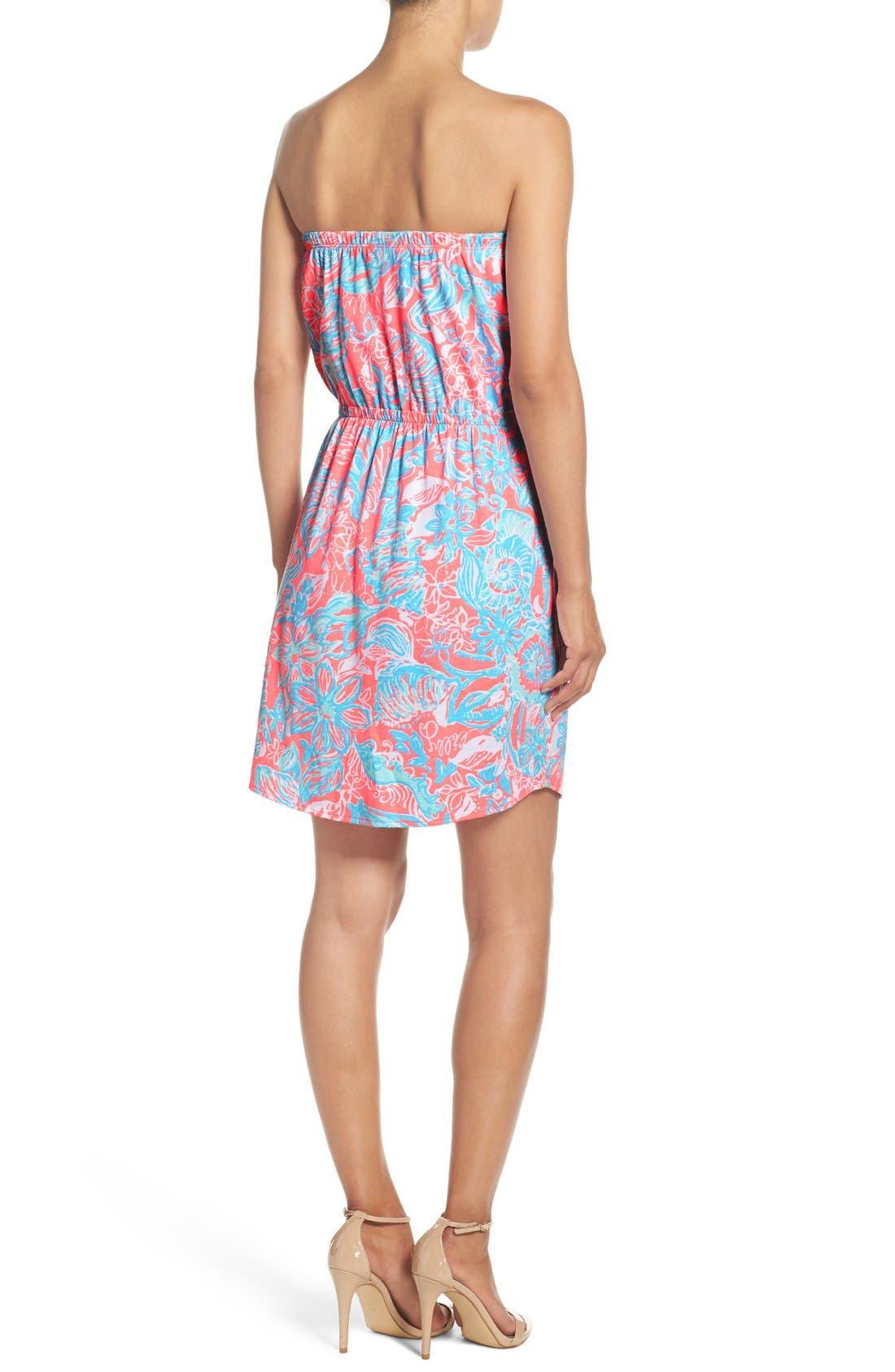 Alternate Image 2  - Lilly Pulitzer® 'Windsor' Pima Cotton Blouson Dress