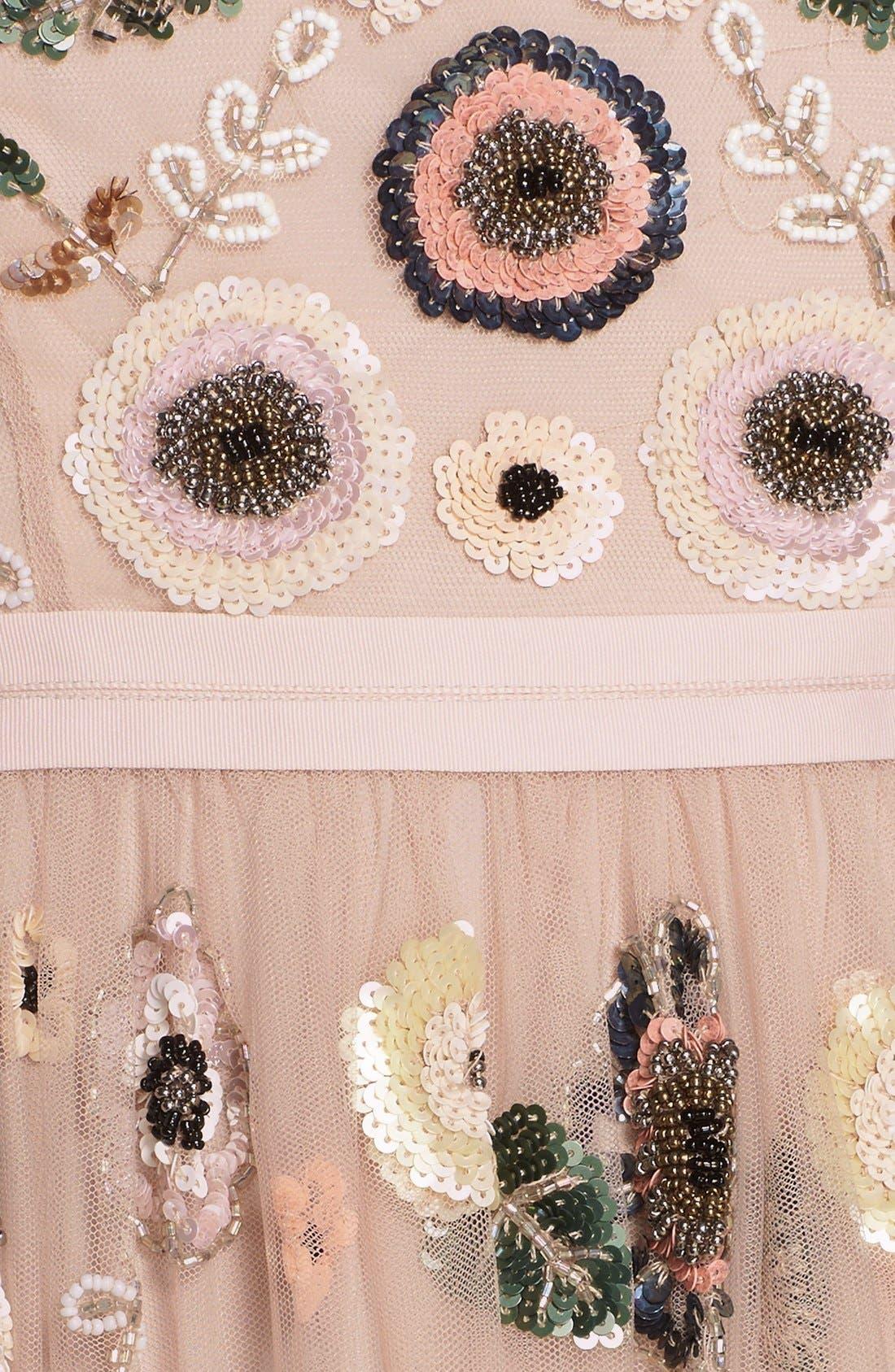 Alternate Image 5  - Needle & Thread 'Woodland' Embellished Tulle Fit & Flare Dress