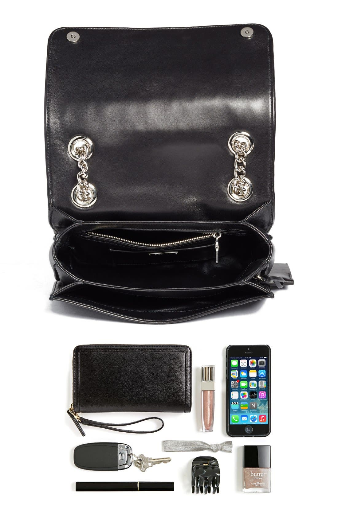 Alternate Image 6  - Miu Miu 'Club' Matelassé Leather Shoulder Bag