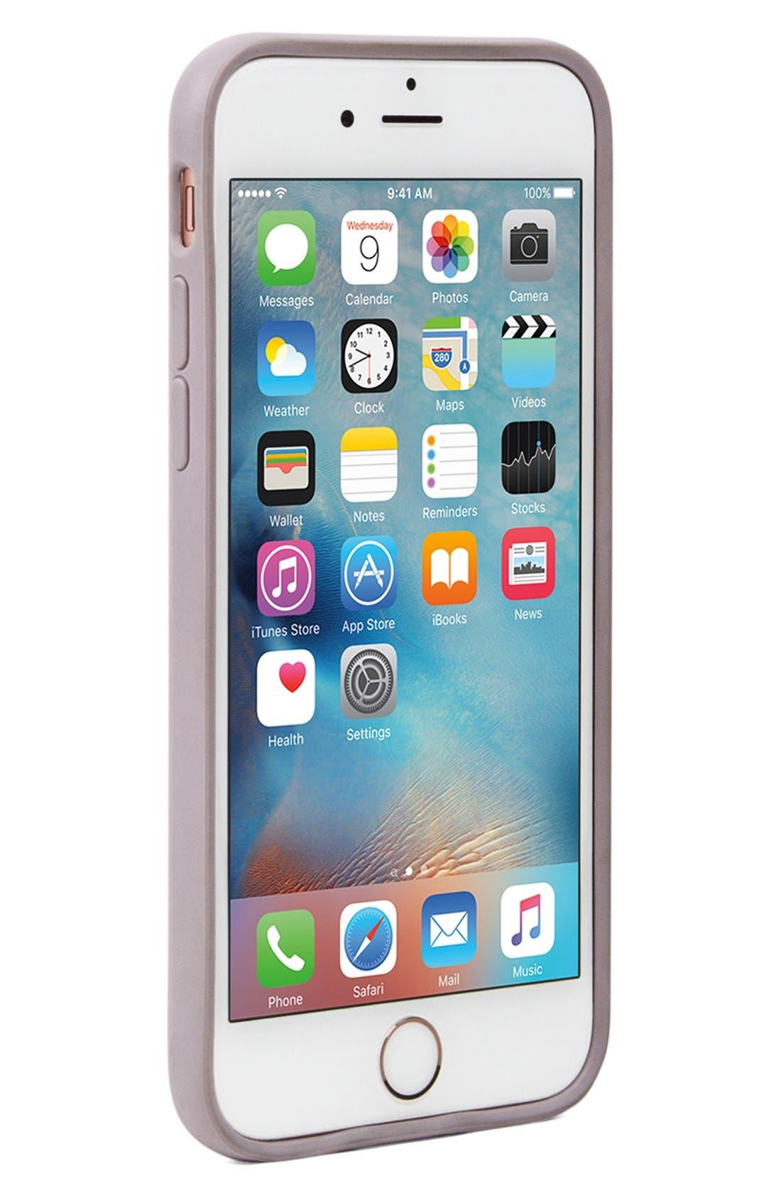 Pop Case iPhone 6 Plus/6s Plus Case,                             Alternate thumbnail 5, color,                             Clear/ Lavender