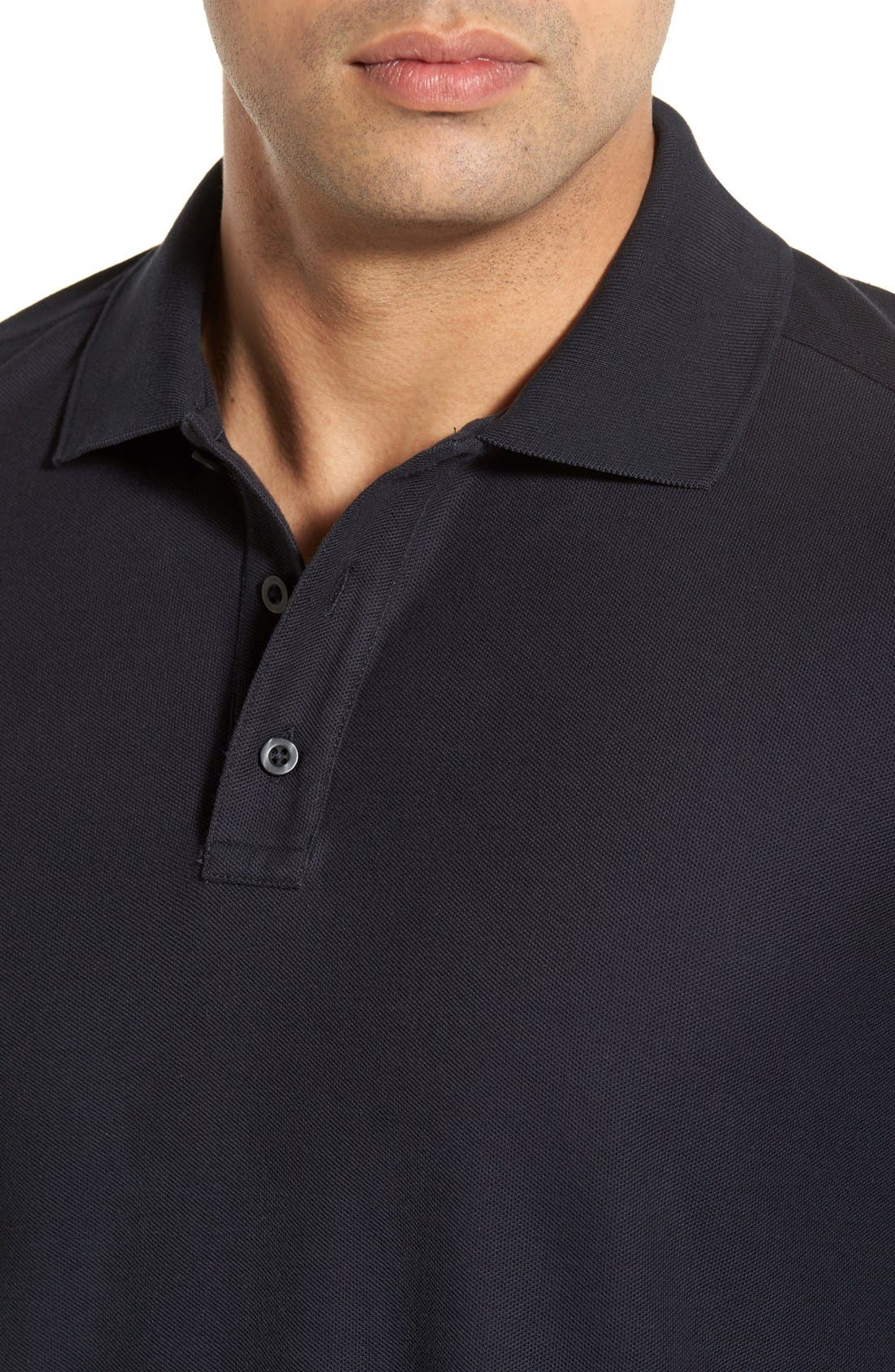 Alternate Image 4  - Nordstrom Men's Shop Classic Regular Fit Piqué Polo