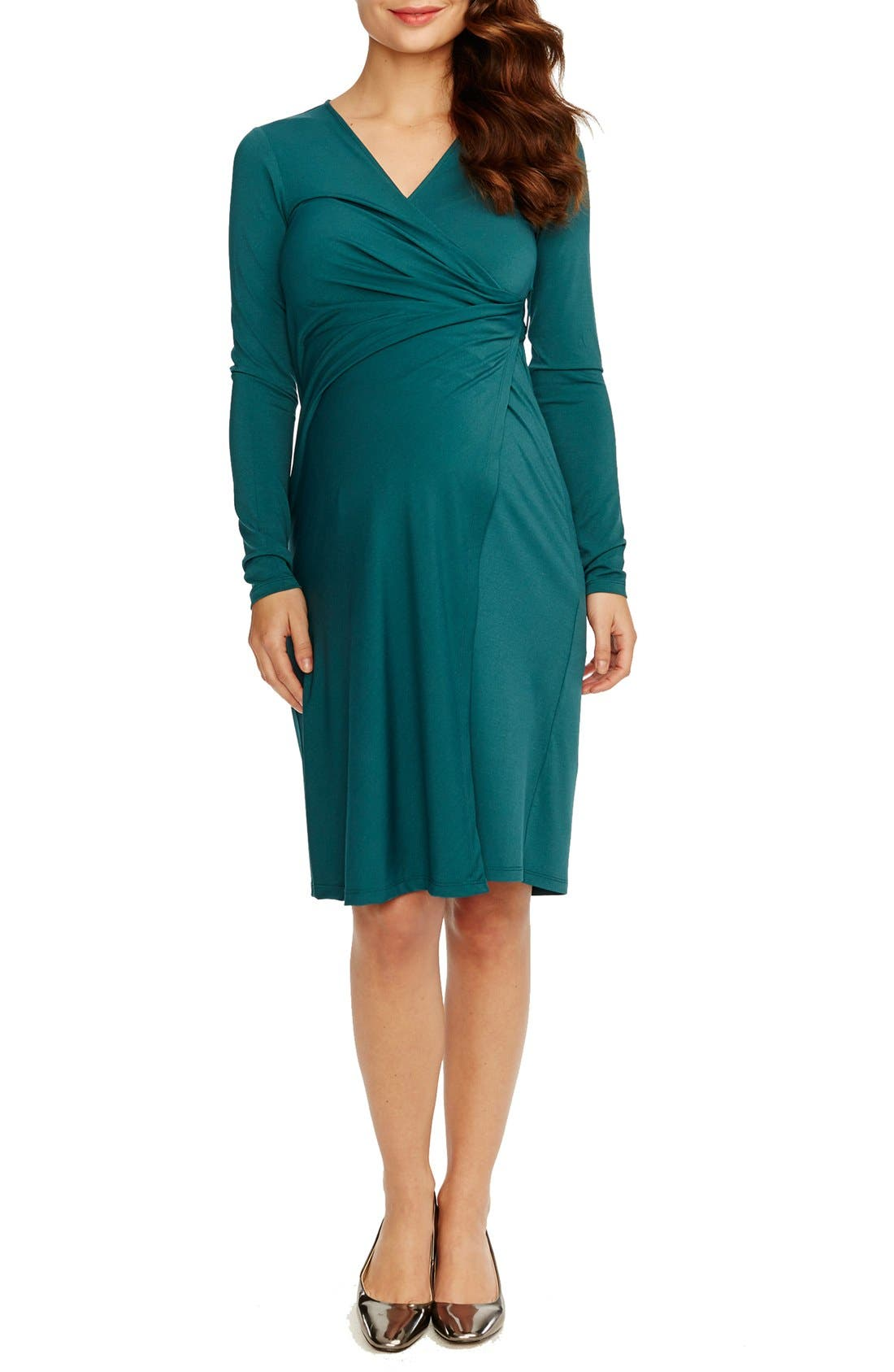 Alternate Image 1 Selected - Rosie Pope Wrap Maternity Dress
