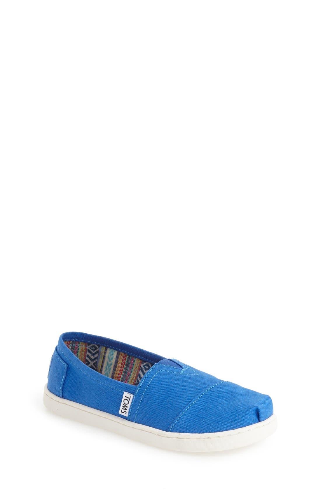 Classic - Tiny Seasonal Slip-On,                         Main,                         color, Blue