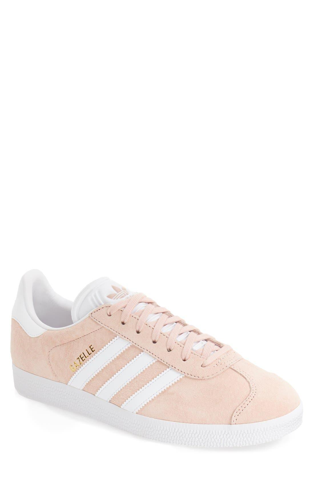 Gazelle Sneaker,                         Main,                         color, Vapor Pink