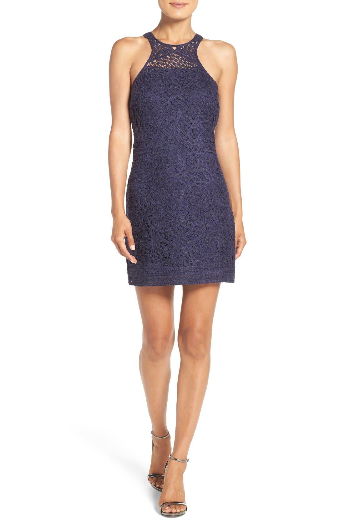 Alternate Image 1 Selected - Lilly Pulitzer® 'Jaimie' Crochet Shift Dress