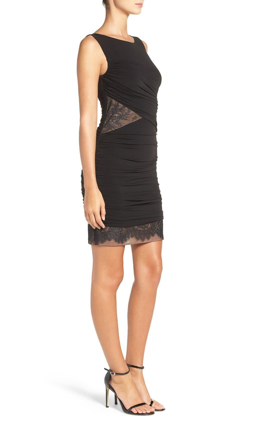 Alternate Image 3  - BCBGMAXAZRIA 'Clio' Ruched Jersey Body-Con Dress