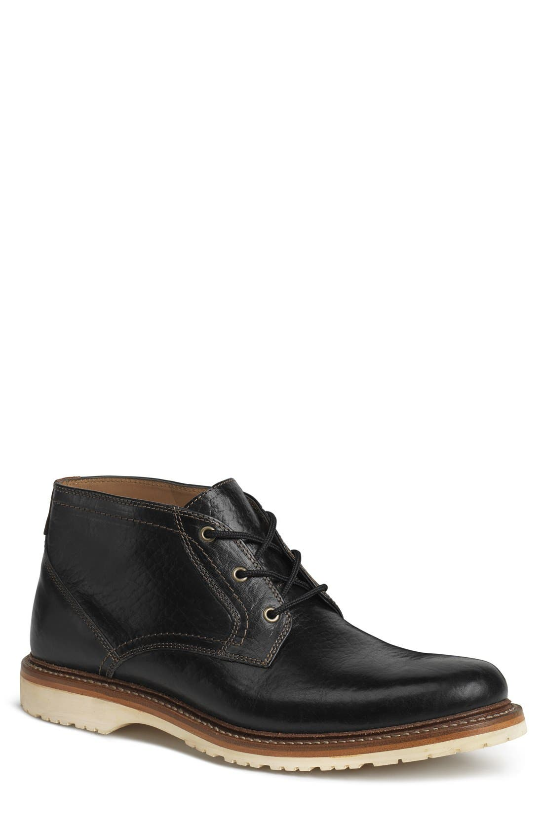 Arlington Chukka Boot,                             Main thumbnail 1, color,                             Black