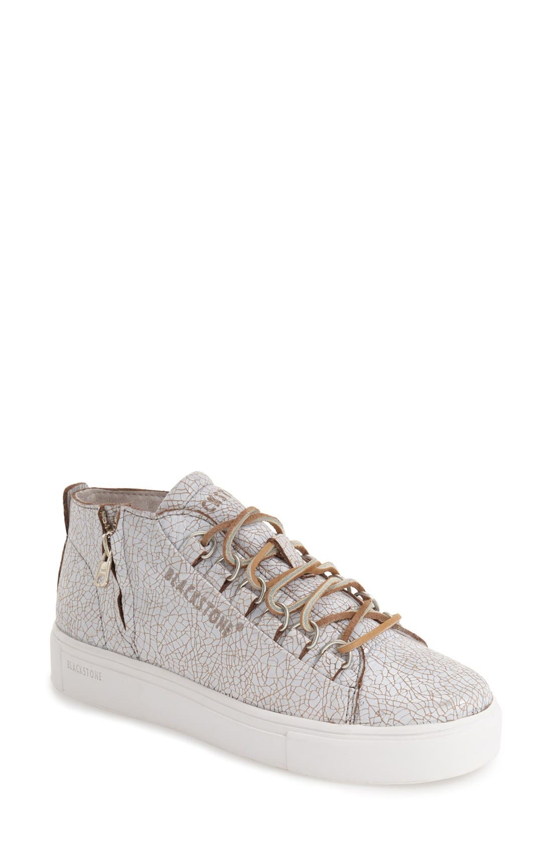 'LL60' Midi Sneaker,                         Main,                         color, Hazel/ White Leather