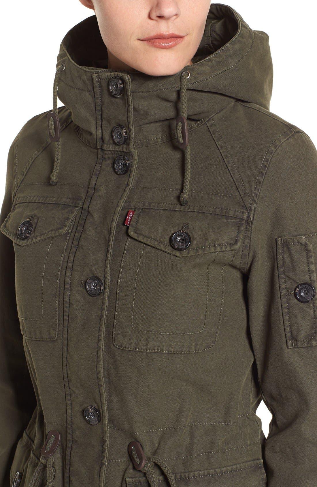 Alternate Image 4  - Levi's® Cotton Twill Utility Jacket