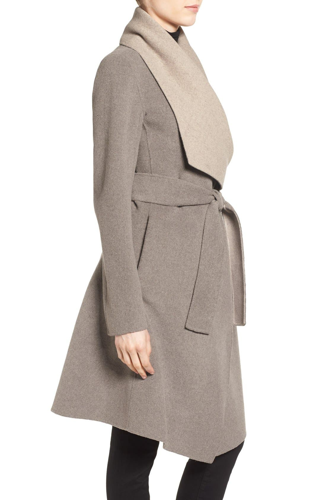 Alternate Image 3  - Diane von Furstenberg Reversible Double Face Wrap Coat