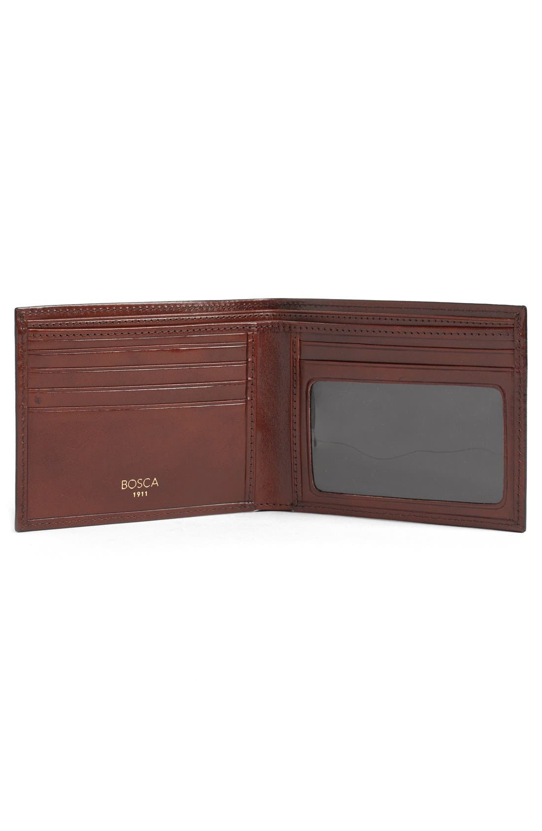 Alternate Image 2  - Bosca Leather Bifold Wallet