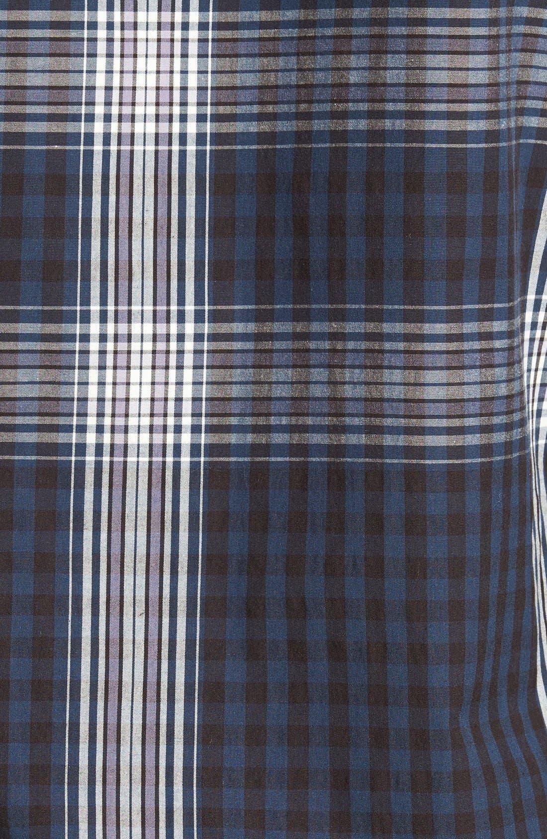Alternate Image 5  - Burberry 'Blackrock' Trim Fit Plaid Sport Shirt