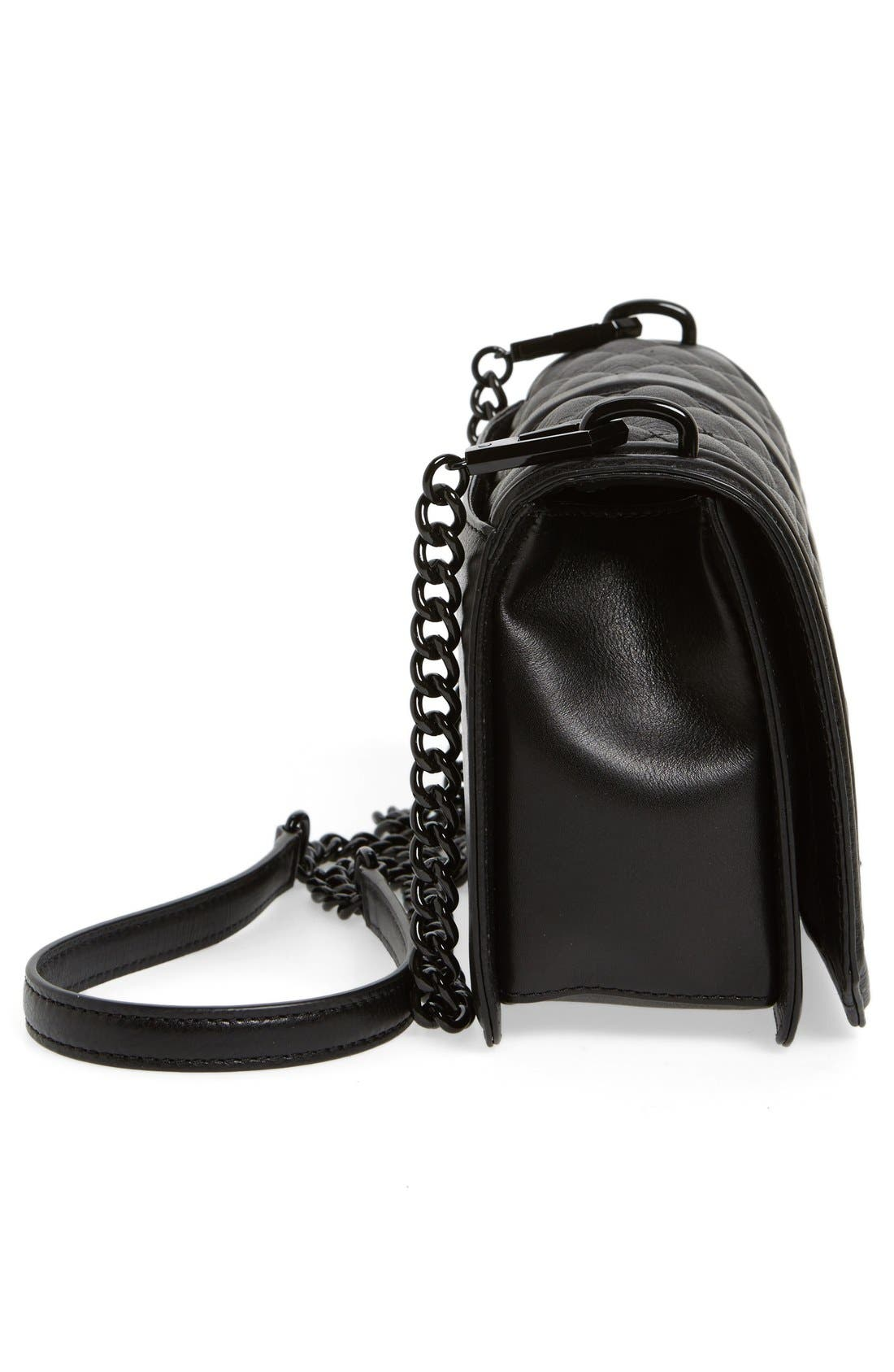 Alternate Image 5  - Rebecca Minkoff Love Leather Crossbody Bag