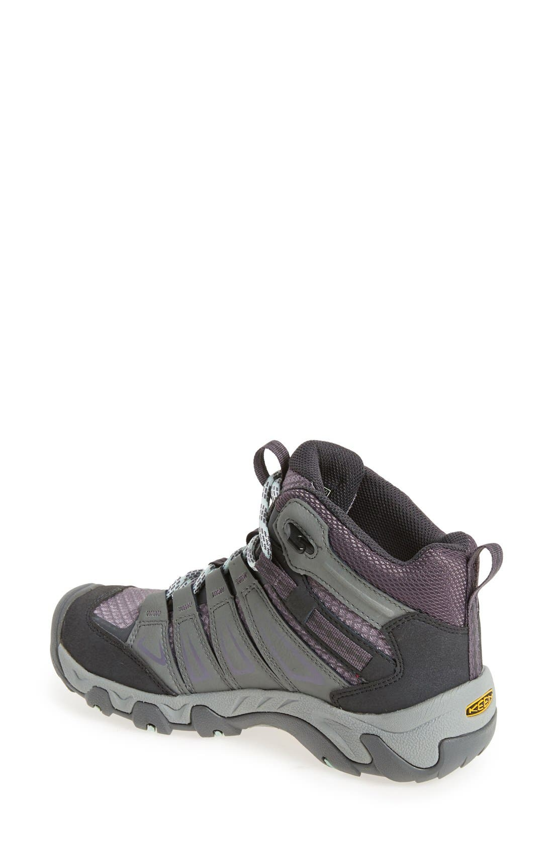 Alternate Image 2  - Keen 'Oakridge' Waterproof Hiking Boot (Women)