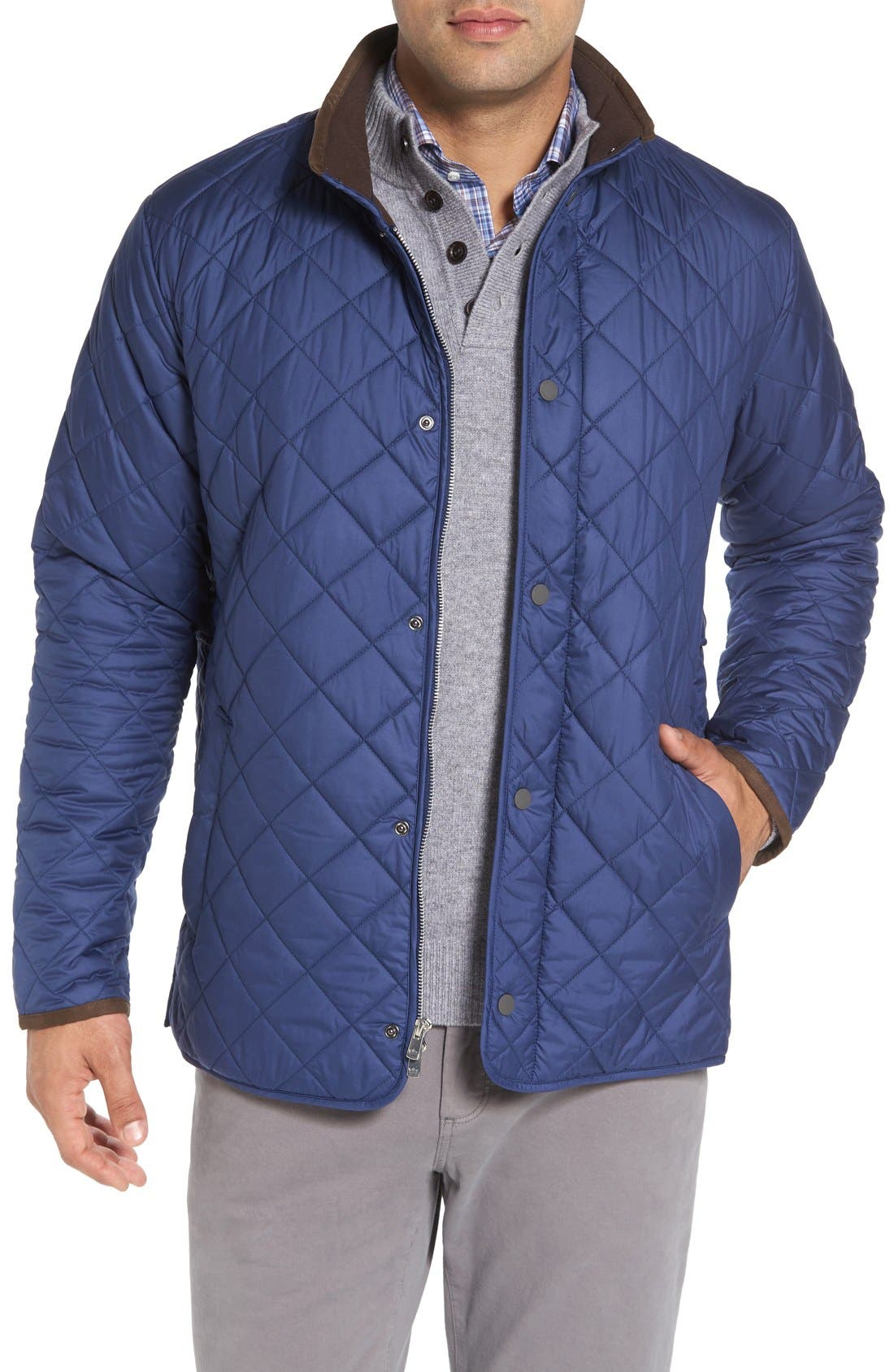 Main Image - Peter Millar Norfolk Water Resistant Quilted Jacket