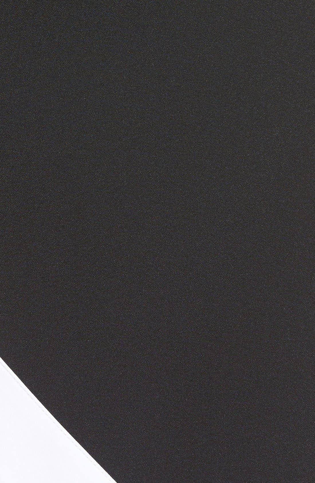 Alternate Image 5  - KENDALL + KYLIE Satin Trim Asymmetrical Skirt