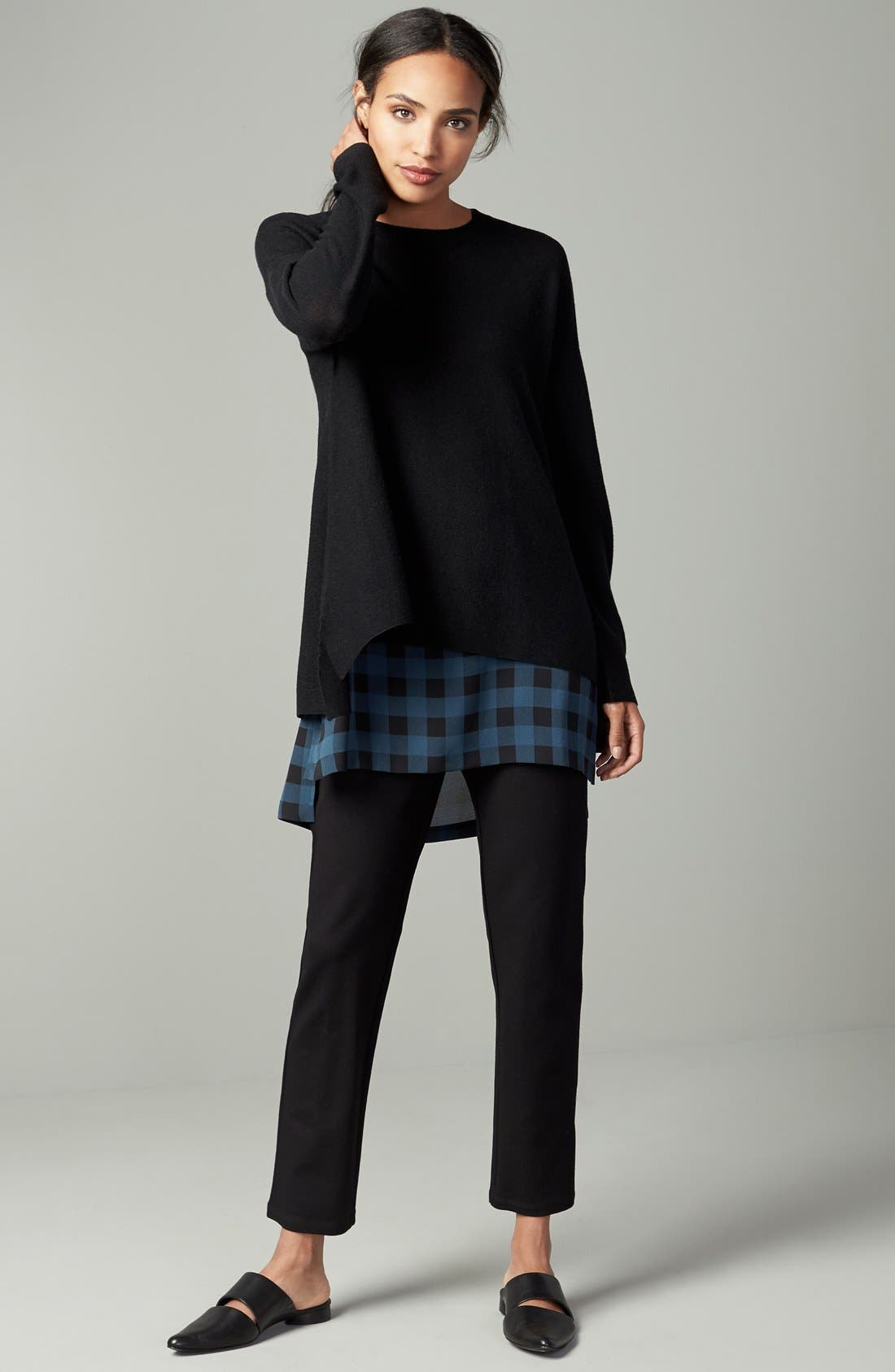 Alternate Image 8  - Eileen Fisher Slim Ponte Knit Pants (Regular & Petite)