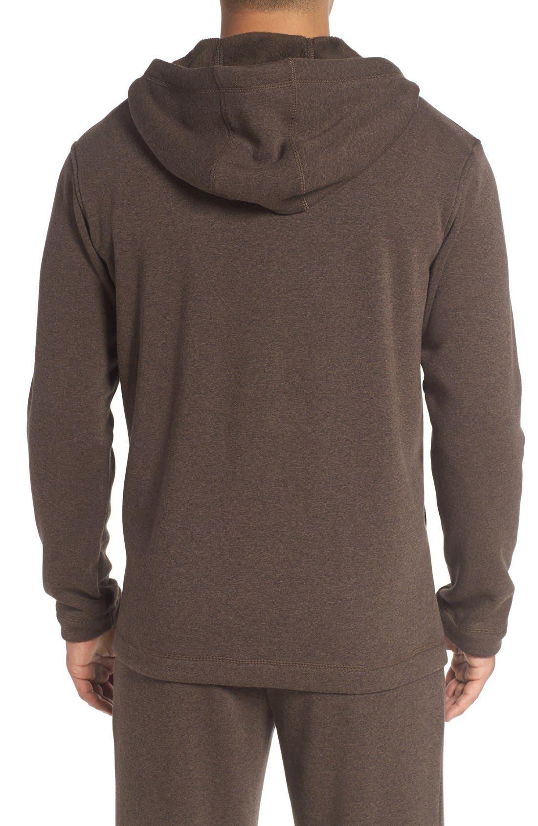 Alternate Image 2  - UGG® 'Bownes' Zip Hoodie