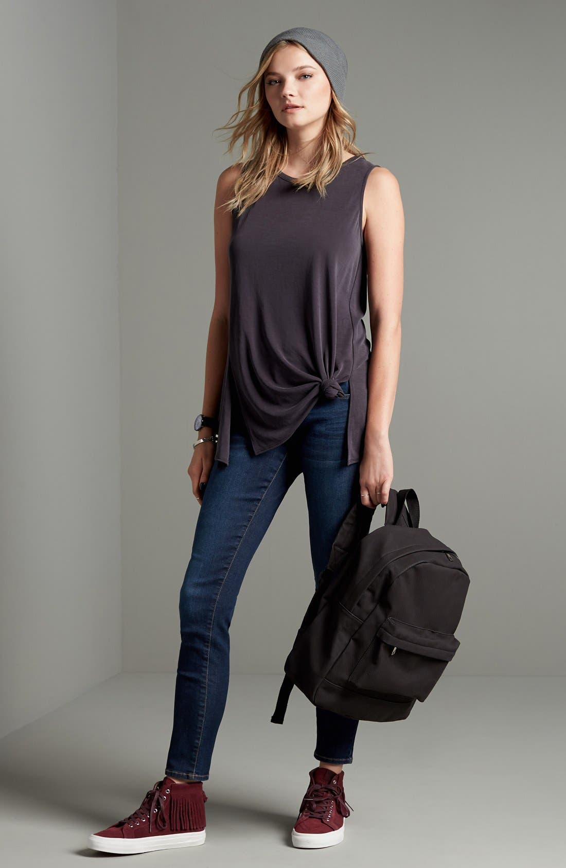 Alternate Image 2  - BP. Mid Rise Skinny Jeans