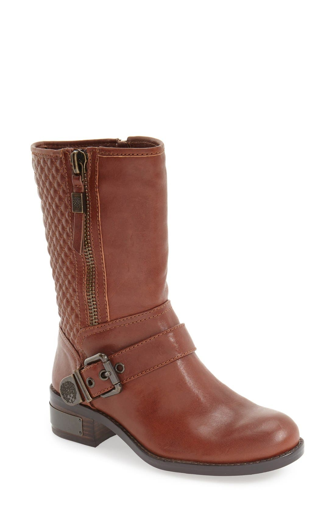 Alternate Image 1 Selected - Vince Camuto 'Whynn' Moto Boot (Women)