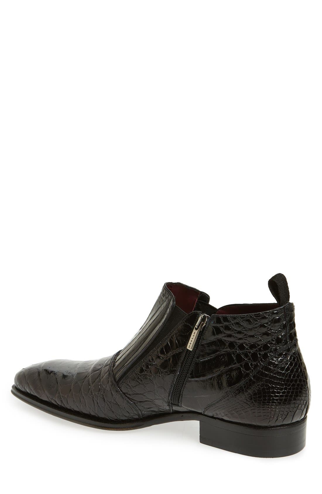 'Bene' Chelsea Boot,                             Alternate thumbnail 2, color,                             Black