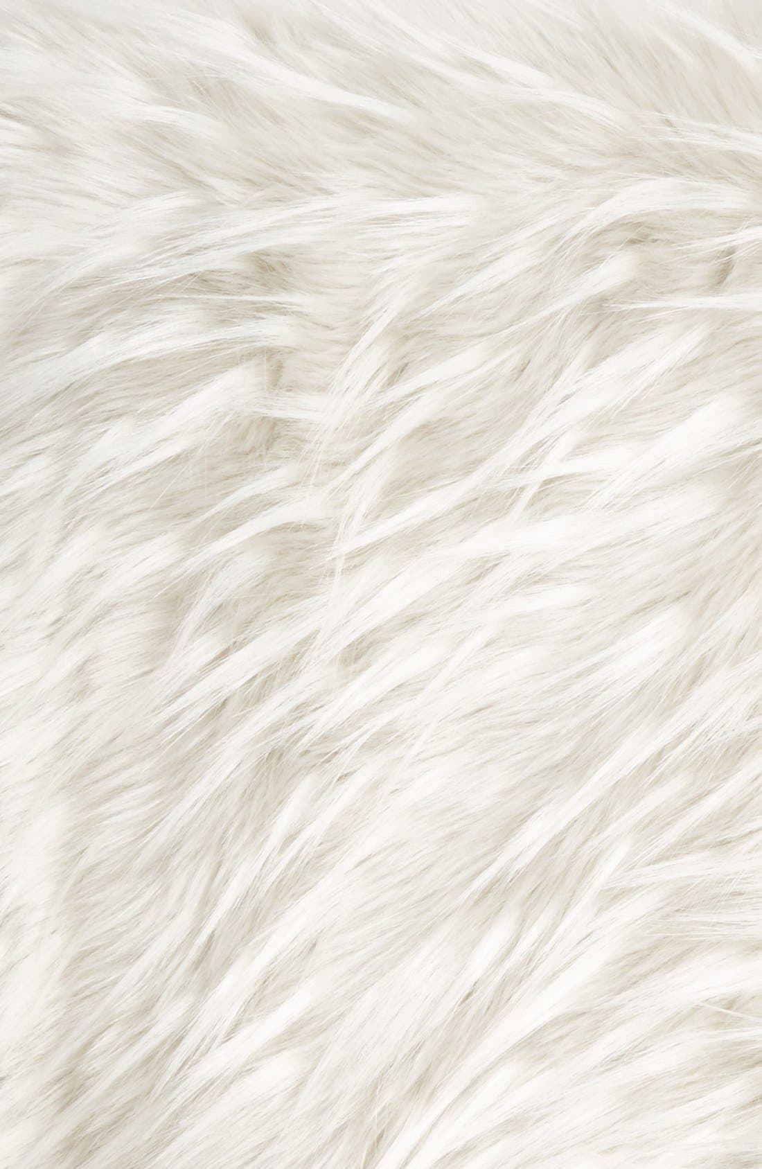 Alternate Image 2  - Nordstrom at Home Cuddle Up Faux Fur Throw
