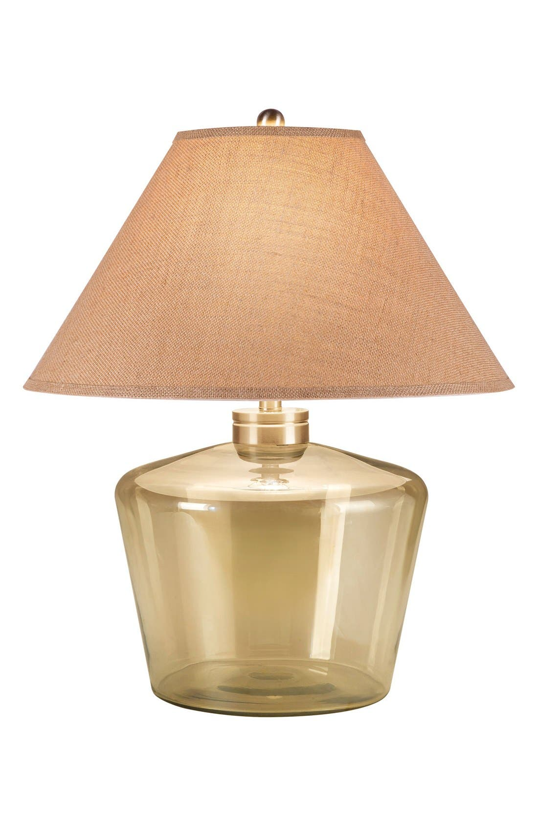JAlexander Champagne Glass Table Lamp,                             Main thumbnail 1, color,                             Metallic Gold