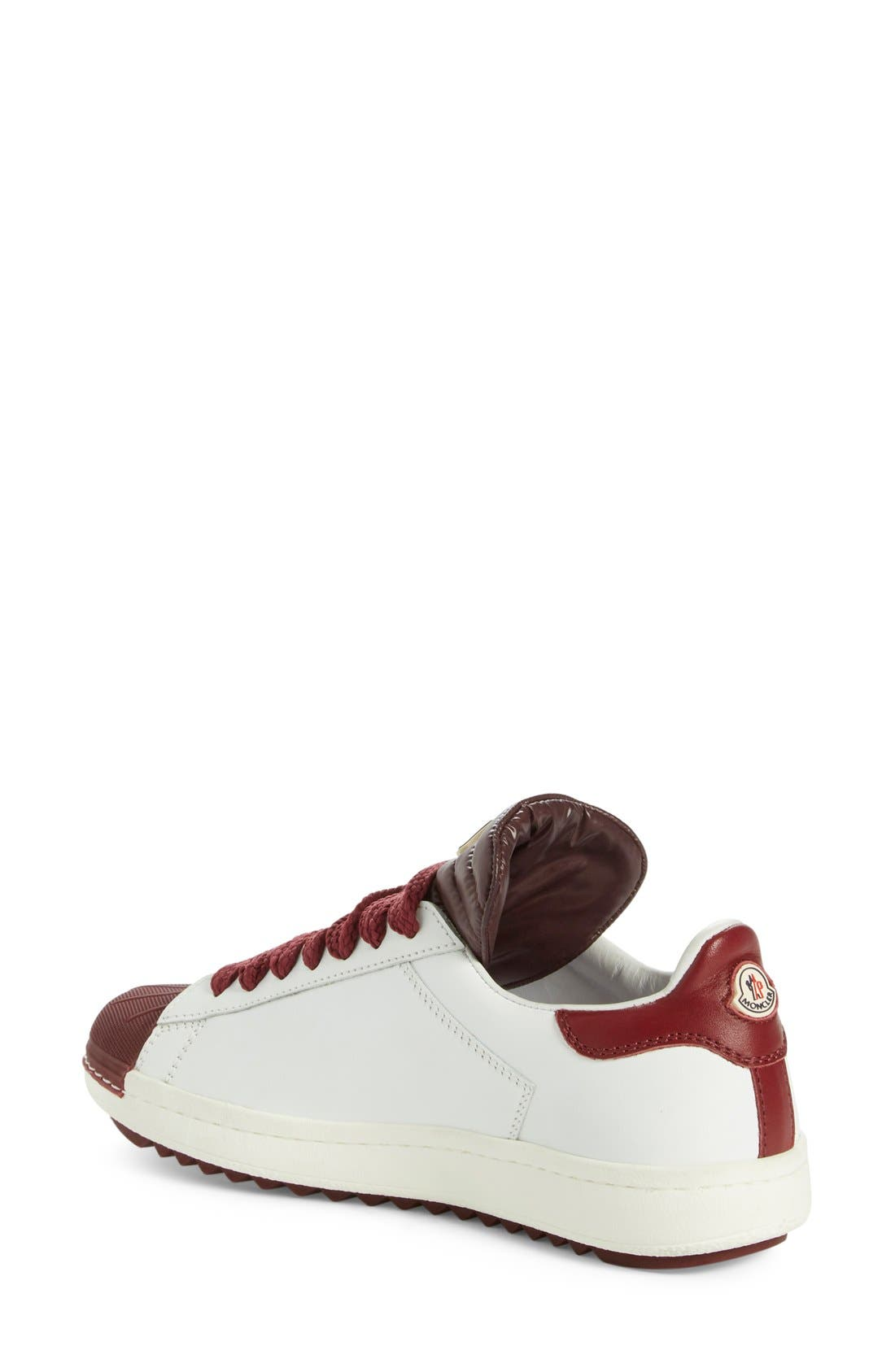 'Angeline Scarpa' Sneaker,                             Alternate thumbnail 2, color,                             Burgundy