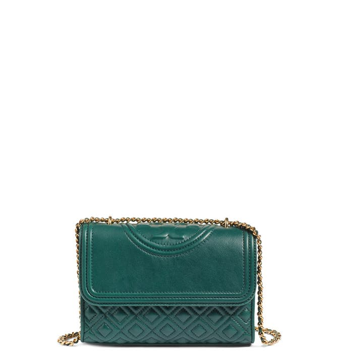 Tory Burch 'Small Fleming' Quilted Leather Shoulder Bag | Nordstrom