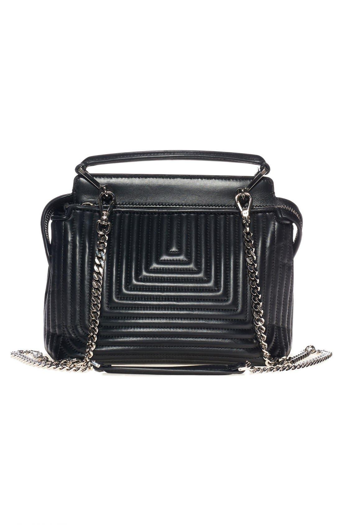 Alternate Image 3  - Fendi 'DOTCOM Click' Quilted Leather Satchel