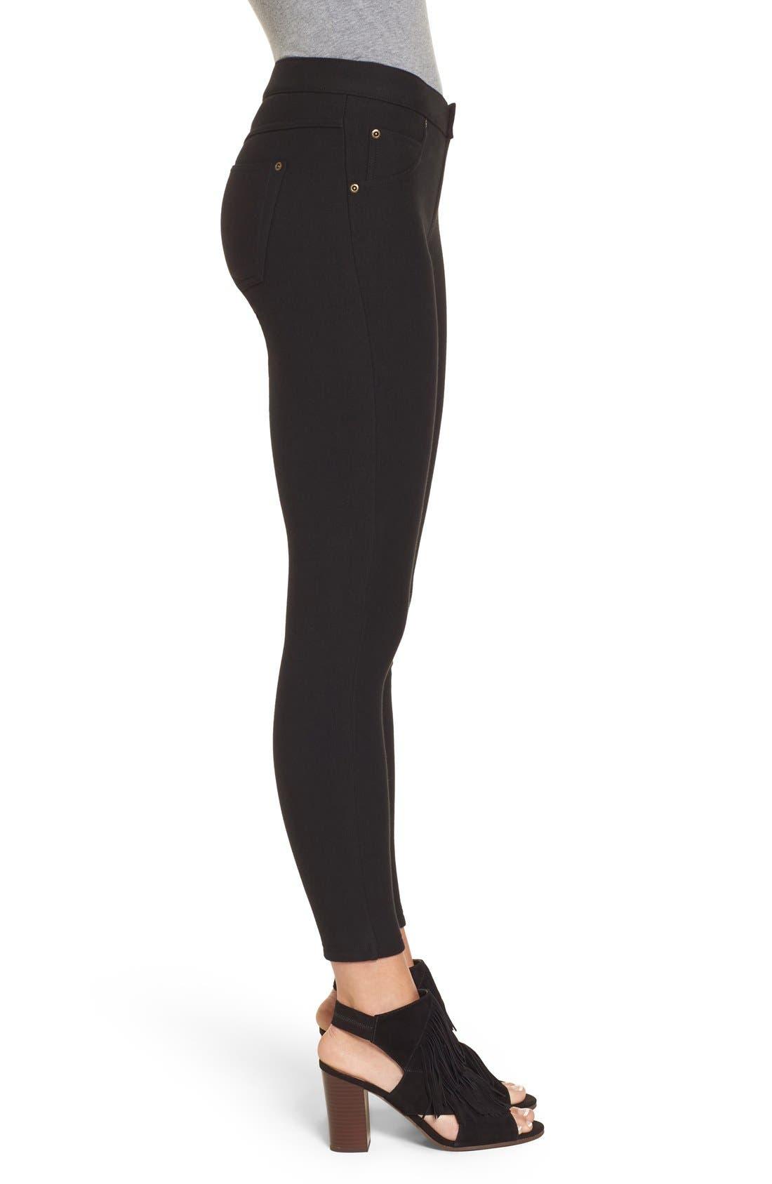 Alternate Image 3  - Hue Fleece Lined Leggings