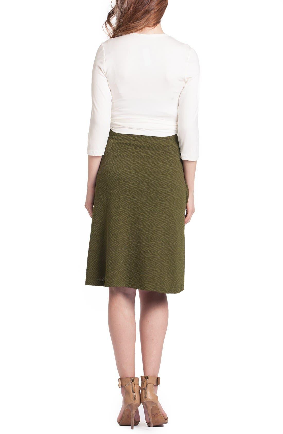 Alternate Image 2  - Lilac Clothing Abby Maternity/Nursing Dress