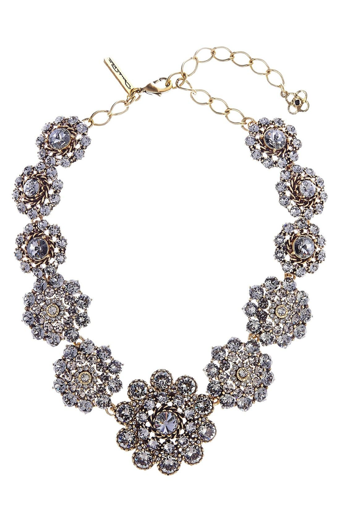 Alternate Image 1 Selected - Oscar de la Renta Swarovski Crystal Collar Necklace