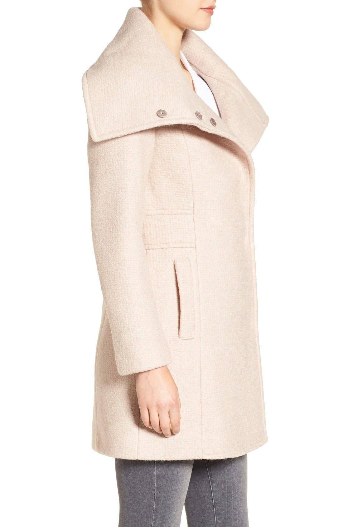 Alternate Image 3  - Cole Haan Signature Oversize Collar Coat