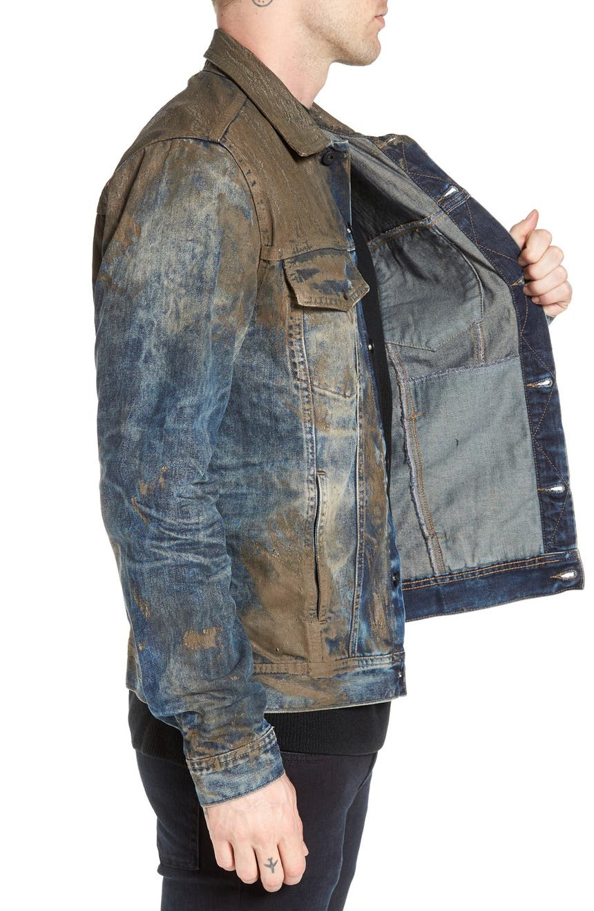PRPS Mud Denim Jacket | Nordstrom
