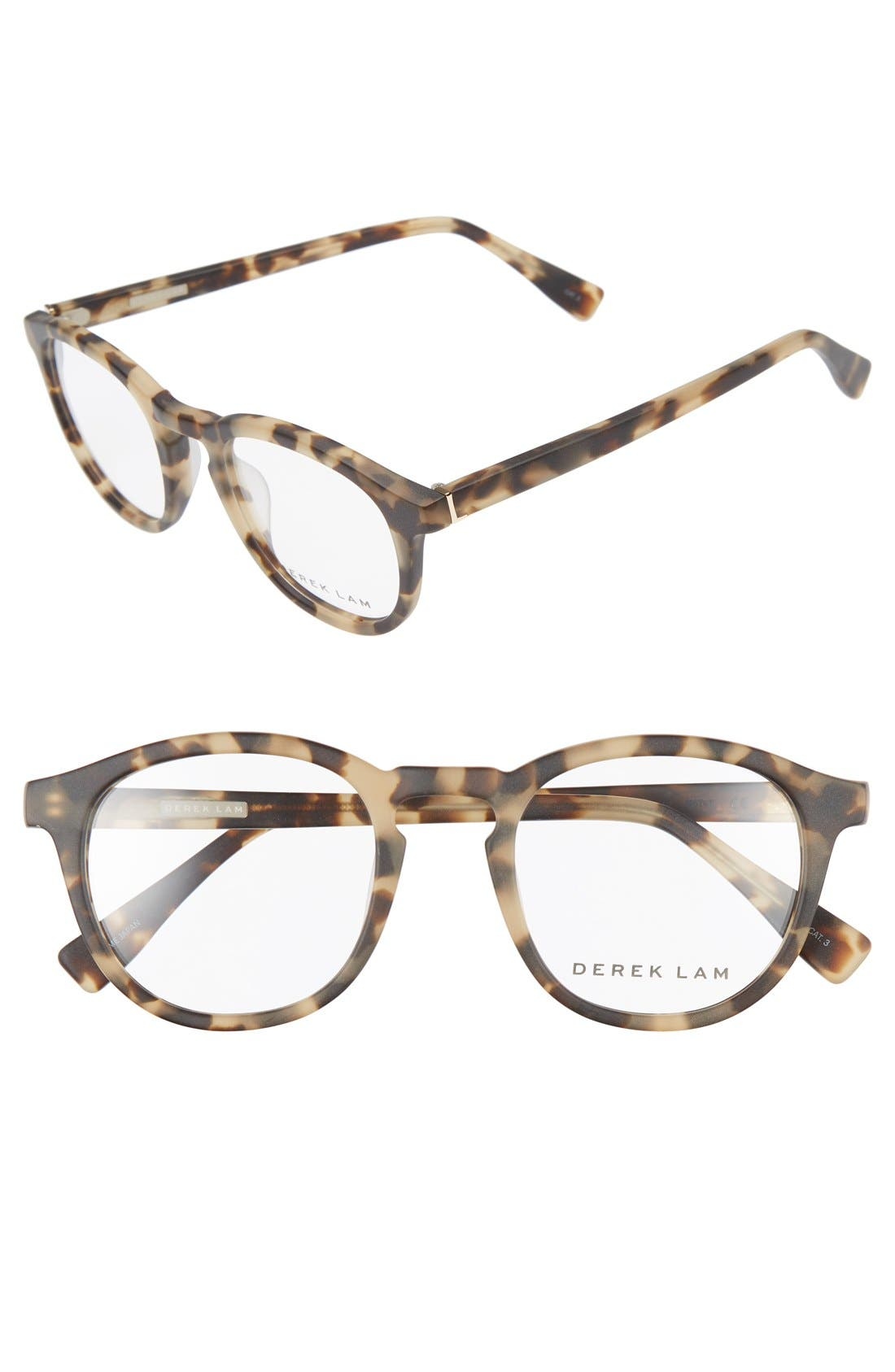 48mm Optical Glasses,                         Main,                         color, Matte Soft Tortoise