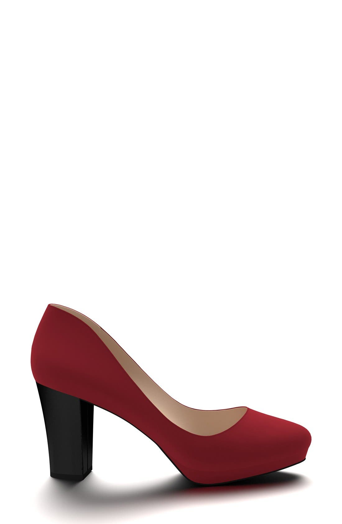 Alternate Image 4  - Shoes of Prey Block Heel Platform Pump (Women)